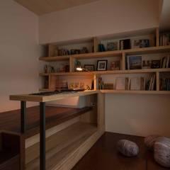 書房:  書房/辦公室 by 敘述室內裝修設計有限公司