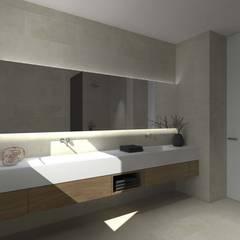 minimalistic Bathroom by interiorbe SRL