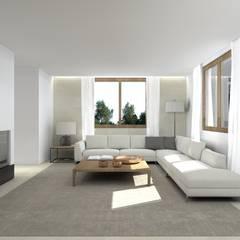 اتاق نشیمن by interiorbe SRL
