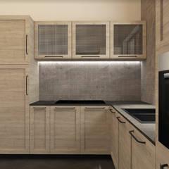 Sogno una casa industriale zen!: Cucina in stile in stile Industriale di interiorbe SRL
