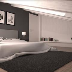 Una casa moderna ed elegante!: Camera da letto in stile  di interiorbe SRL