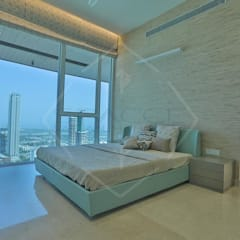 ON CLOUD 39!! @ lower parel, Mumbai): classic Bedroom by SPACCE INTERIORS