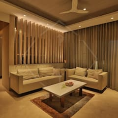 ON CLOUD 39!! @ lower parel, Mumbai):  Dining room by SPACCE INTERIORS