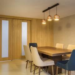 diseño interior jardín adentro: Salas de estilo  por Adrede Diseño