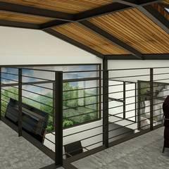 Projekty,  Dach zaprojektowane przez Integra Arquitectos