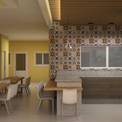 Churrasqueira: Casas familiares  por SCK Arquitetos