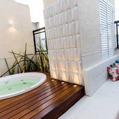 Projekty,  Basen do ogrodu zaprojektowane przez Arquit&thai