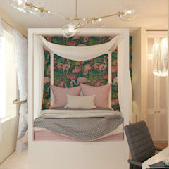 mediterranean Nursery/kid's room by KOSO DESIGN