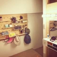 Dressing room by 圓方空間設計