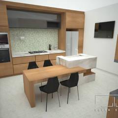 Cocina : Muebles de cocinas de estilo  por UOTAN Studio