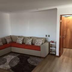 Sala de estar : Estudios y biblioteca de estilo  por Arqsol