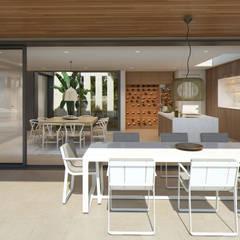 Twelve Project. Single family house located at Calviá, Mallorca: Comedores de estilo  de JAIME SALVÁ, Arquitectura & Interiorismo