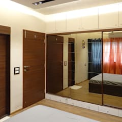 Deshpande Residence:  Bedroom by Nuvo Designs