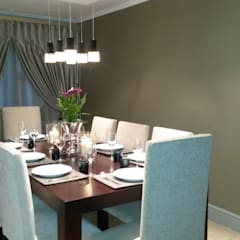 Sandton Style Penthouse Living:  Dining room by CKW Lifestyle Associates PTY Ltd,