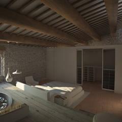 Ramazzano Castle: Hotel in stile  di FRANCESCO CARDANO Interior designer