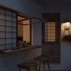 Anto Apartment: Terrazza in stile  di FRANCESCO CARDANO Interior designer