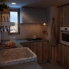 Anto Apartment: Cucina in stile  di FRANCESCO CARDANO Interior designer