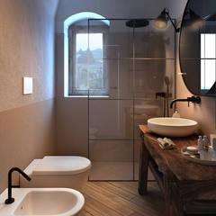 Bagno rustico interior design idee e foto l homify for Vendita bagni online