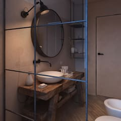 Baños de estilo  por FRANCESCO CARDANO Interior designer