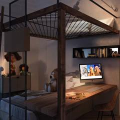 Chambre d'enfant de style  par FRANCESCO CARDANO Interior designer