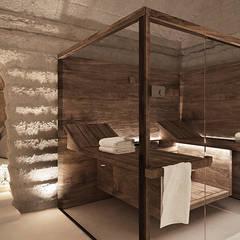 Hoteles de estilo  por FRANCESCO CARDANO Interior designer