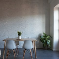 Casa Industrial: Comedores de estilo  de Baobab Arquitectura