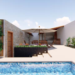 Kolam Renang by Fark Arquitetura e Design