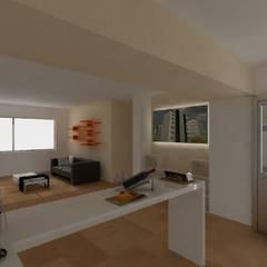 -La Cañada-: Condominios de estilo  por TACTIL Arquitectura