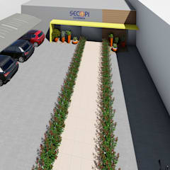 SECOPI: Lojas e imóveis comerciais  por NM Arquitetura e Urbanismo