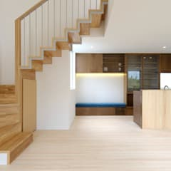 Stairs by STUDIO COCHI ARCHITECTS