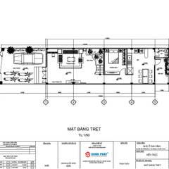 Tư vấn xây dựng nhà 1 Trệt 1 lầu sân thượng 1.4 tỷ Tại Thủ Đức:  Nhà by Công ty TNHH Thiết Kế Xây Dựng Song Phát
