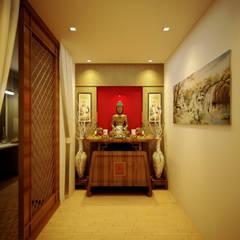Casas unifamiliares de estilo  por Công ty thiết kế xây dựng Song Phát