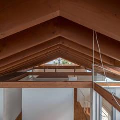 小田井の住宅: 水石浩太建築設計室/ MIZUISHI Architect Atelierが手掛けた屋根です。