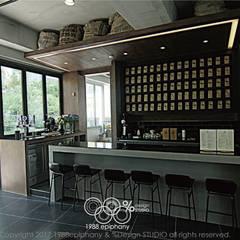 20평대 카페인테리어: 1988에피파니의  주방 설비