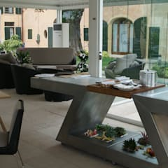 مطاعم تنفيذ ZED EXPERIENCE - indoor & outdoor kitchen
