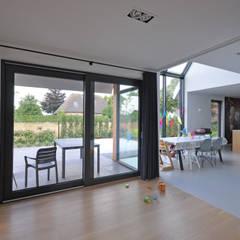 غرفة المعيشة تنفيذ Bongers Architecten