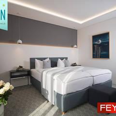 Hotel Edison Kühlungsborn mit Feydom Cloud-B  Modulsofa:  Hotels von FEYDOM Deutschland GmbH