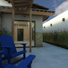 حديقة تنفيذ THACO. Arquitetura e Ambientes, إستعماري