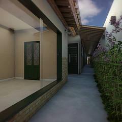 Corridor & hallway by THACO. Arquitetura e Ambientes, Colonial