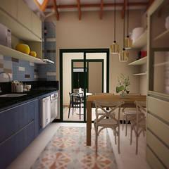 CASA RELEITURA Cozinhas coloniais por THACO. Arquitetura e Ambientes Colonial