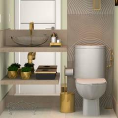 Bathroom by Decoropravocê - Decoração ao seu alcance.