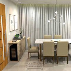 ห้องทานข้าว โดย Decoropravocê - Decoração ao seu alcance., เมดิเตอร์เรเนียน