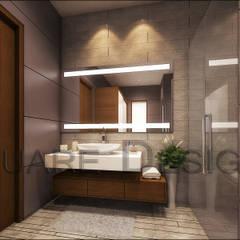 bathroom design : modern Bathroom by Square Designs