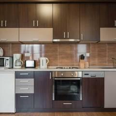 modular kitchen bangalore:  Kitchen units by voglia