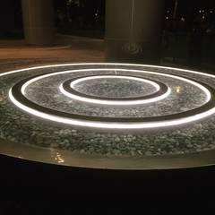 Landscape Lighting:  Hotels by LLDS Lighting Design Systems