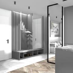 Holl: styl , w kategorii Korytarz, przedpokój zaprojektowany przez 91m2 Architektura Wnętrz
