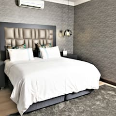 Interior Design and Decor:  Bedroom by Motama Interiors and Exteriors