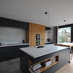 Villa Rotterdam:  Keuken door Bongers Architecten