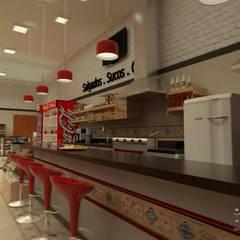 BALCÃO: Espaços gastronômicos  por THACO. Arquitetura e Ambientes