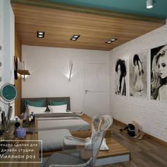 DM Comfort Town: styl , w kategorii Sypialnia zaprojektowany przez Design studio TZinterior group